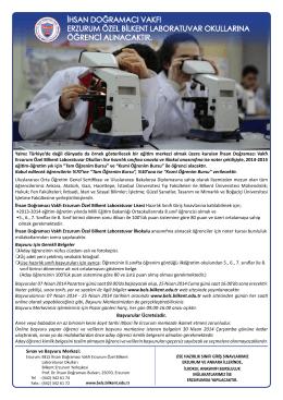 null - Bilkent Erzurum Laboratuvar Okulu