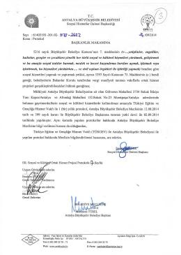 Gündemin 3.Maddesi - Antalya Belediyesi