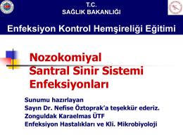 Santral Sinir Sistemi Enfeksiyomları