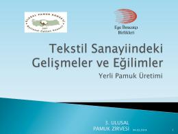 Türkiye Tekstil Sanayi-Emre Kızılgüneşler