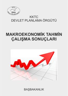 Makroekonomik Tahmin Çalışma Sonuçları