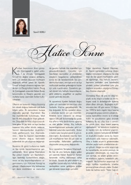 Hatice Anne Sevil KIRLI