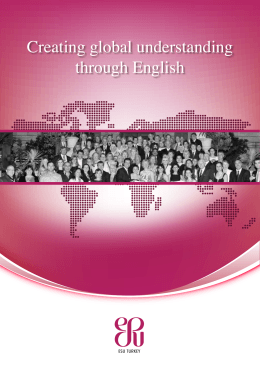 Creating global understanding through English