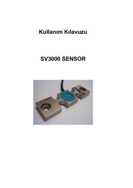 SV-3000 Kullanım Klavuzuna erişmek için tıklayınız