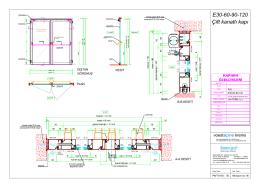 E sınıfı çift kanatlı kapı - Sistem Grup Balistik Cephe Sistemleri