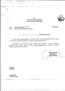 lzroızoıo - mut ilçe millî eğitim müdürlüğü
