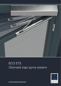 ECO ETS - ECO Schulte