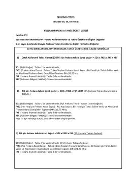 Elektronik Haberleşme (Değişiklik) Yasası (3)