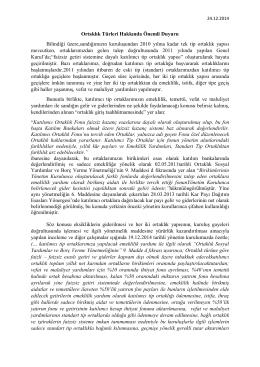 24.12.2014 tip geçiş hakkında duyuru