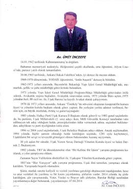 AV.ÜMİT