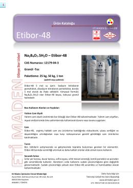 Na2B4O7.5H2O – Etibor-48