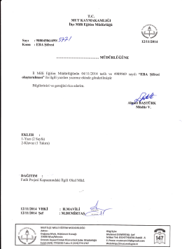 :M.DEMİRTAŞGJ - mut ilçe millî eğitim müdürlüğü