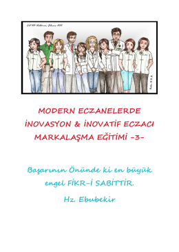 İnovatif Eğitimi - Pharma Concept Education