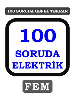 100 soruda elektrik