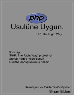 "PHP: ""Usulüne"" Uygun"