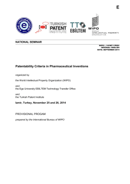 Patentability Criteria in Pharmaceutical Inventions