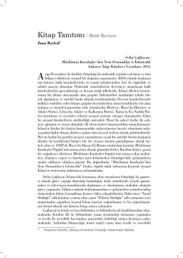 Kitap Tanıtımı / Book Review