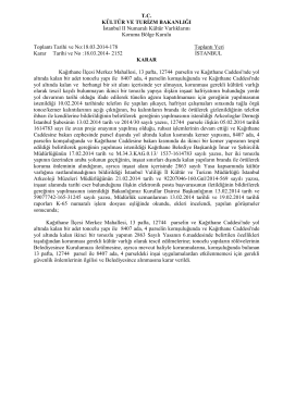 İstanbul - Kağıthane - Merkez Mah. 13 Pafta 12744 Parseldeki