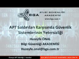 bga_3_apt saldırıları karşısında güvenlik sistemlerin yetersiziliği