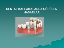 Dental Kaplamalar
