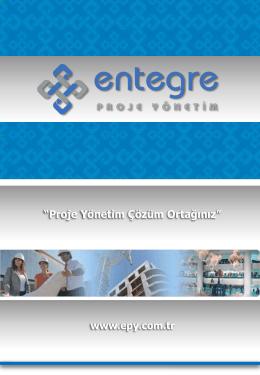 diğer projeler - Entegre Proje Yönetim