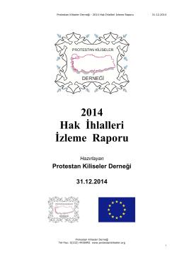 2014 Hak İhlalleri İzleme Raporu