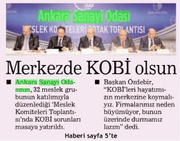 19.12.2014 - Ankara Sanayi Odası