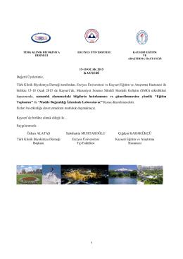 tıklayınız - Türk Klinik Biyokimya Derneği