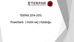 tekpar 2013-2014 yılbaşı kataloğu