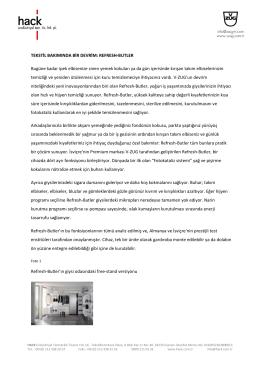 basın bülteni (pdf / 89.7 kb) - V