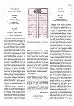 Kıyade - İslam Ansiklopedisi