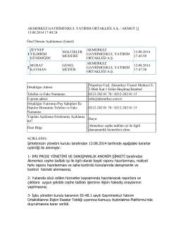 138. Akmerkez cephe tadilatı işi ile ilgili danışmanlık hizmetleri alımı