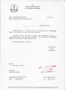 ügff*J - mut ilçe millî eğitim müdürlüğü