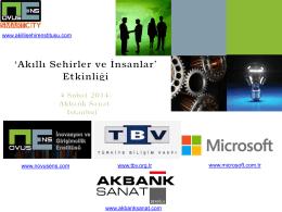 """Akıllı Şehirler ve İnsanlar"""" Lansman Etkinliği, 4 Şubat 2014, İstanbul"""
