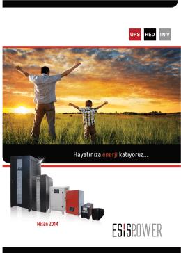2014 Türkçe Ürün Kataloğu :Download