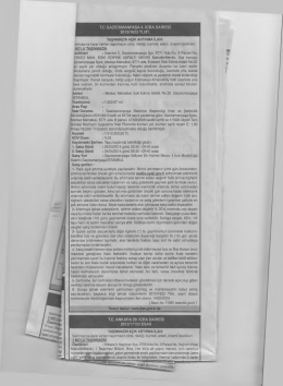 T.C GAZİOSMANPAŞA 4. İCRA DAİRESİ 2013/1623