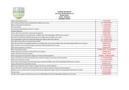KARABÜK ÜNİVERSİTESİ 2014-2015 EĞİTİM ÖĞRETİM YILI