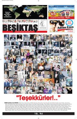 15. Yıl - Gazete Beşiktaş