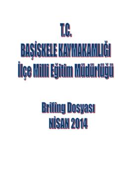 Brifing - Başiskele İlçe Milli Eğitim Müdürlüğü