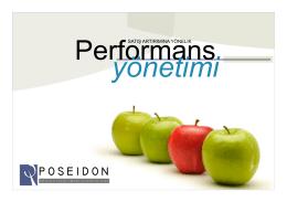 Mağaza Performans Yönetim Sistemi