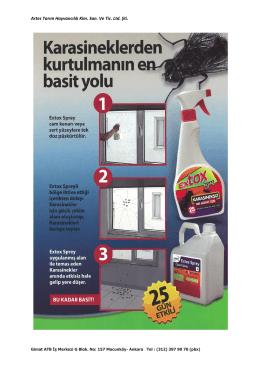 Artes Tarım Hayvancılık Kim. San. Ve Tic. Ltd. Şti.
