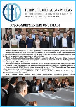 Sayı- 46 - Fethiye Ticaret ve Sanayi Odası