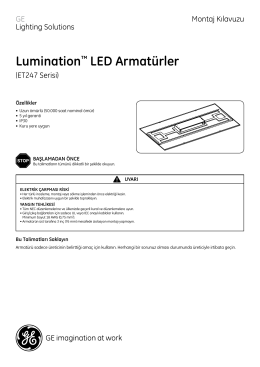 Lumination™ LED Armatürler
