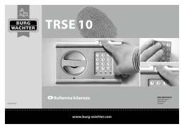 TRSE 10 - Burg