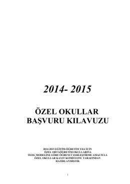 özel okullar kayıt komisyonu