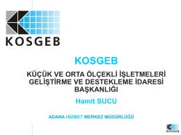 kosgeb - Endüstriyel Simbiyoz Endüstriyel Ekoloji