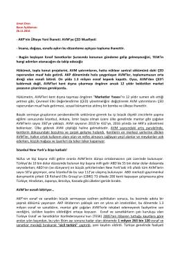 PDF, 315KB - CHP İstanbul Milletvekili Umut Oran