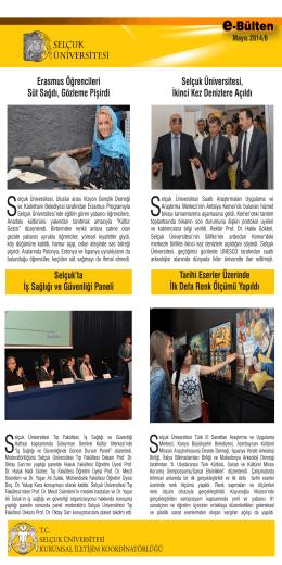 Erasmus Öğrencileri Süt Sağdı, Gözleme Pişirdi Selçuk Üniversitesi