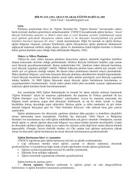"""EĞİTİM HARİTALARI Araştırma ile Türkiye genelinde ilk kez """"Eğitim"""