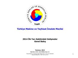 Türkiye Makine ve Teçhizat İmalatı Meclisi